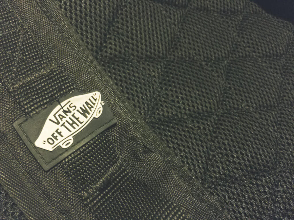 Vans Backpack missing softer padding