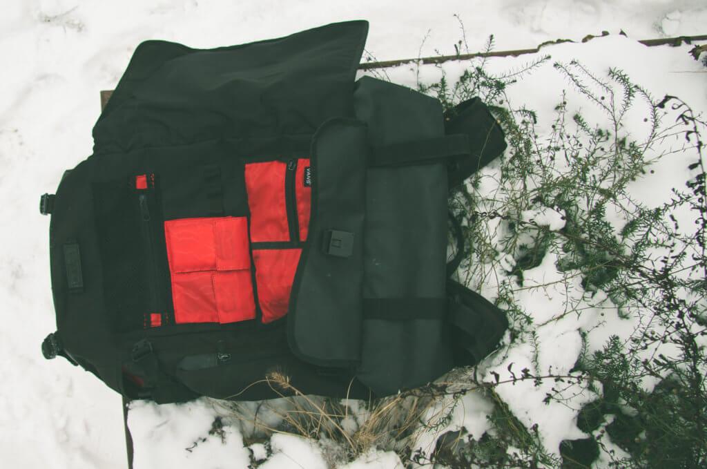 Vans Backpack Practical Organization